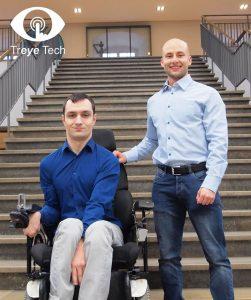 Anton Wachner und Kiril Kotev kurz nach der Gründung ihres Unternehmens